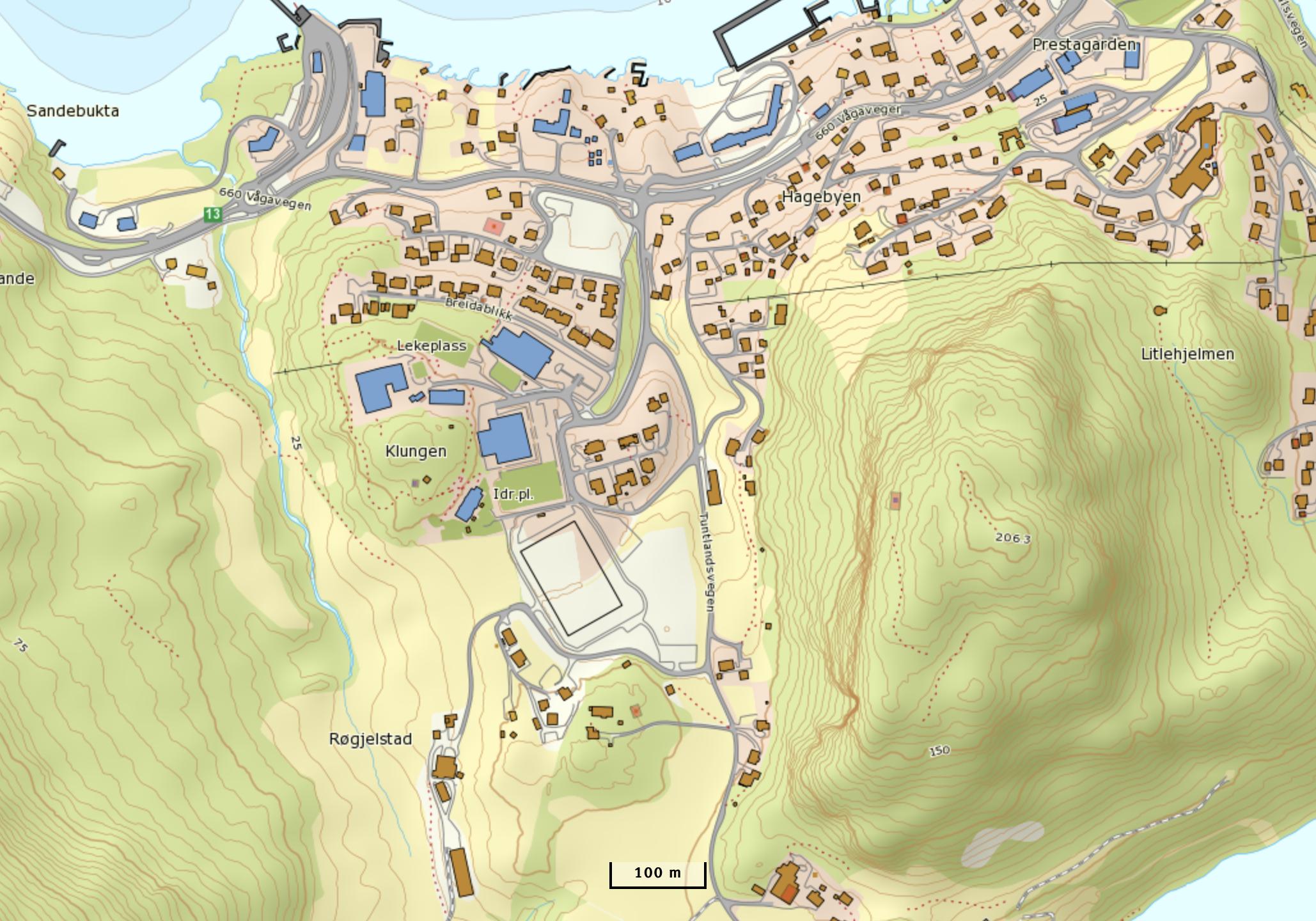 kart topografisk Topografisk kart – Nettskulen.no kart topografisk